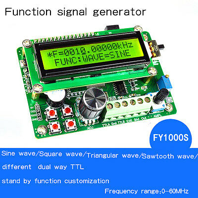 FY1010(S) series Direct Digital Synthesis (DDS) Multifunction Signal Generator