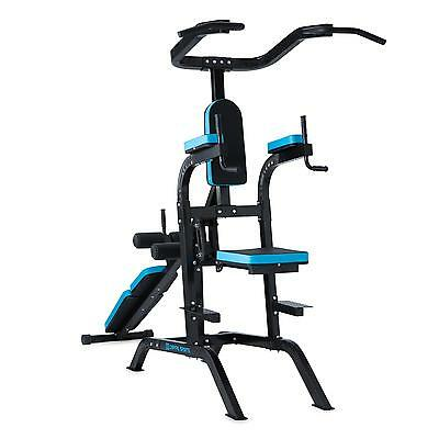Capital Sports Power Tower Pull Up Bar Push Up Dip Fitness Gym  Steel Machine