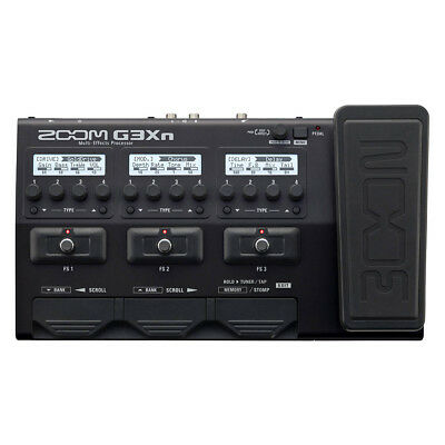 Zoom G3XN Guitar Effects & Amp Simulator w/ Expression Pedal