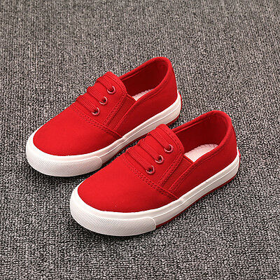 kids Children's sports shoes Boys girls canvas shoes casual Sneakers