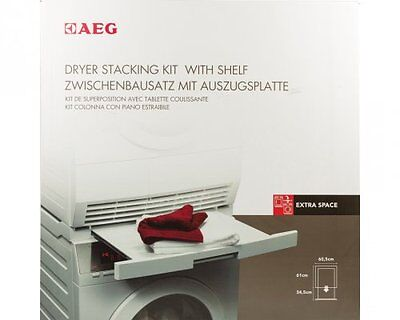 Kit Stackable Washing machine/Dryer 60.5 cm featuring plan extractable