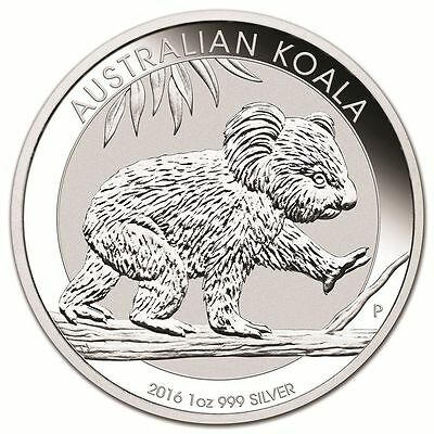 Koala 2016 Roll Of 20 Mint Sealed 1 Oz 999 Rounds Free Shipping And Insurance