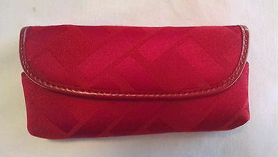 TALBOTS NWOT Red Glasses Case in Gift Box