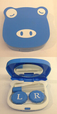 Kit Porta Lenti A Contatto Da Borsa Travel Contact Lens Case Mucca