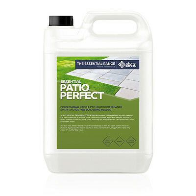Powerful & fast Patio Cleaner - Mix 1:1, spray, simply leave to work for 2 hours