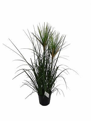 Best Artificial 2ft / 60cm Nile Grass Paper Reed Papyrus Outdoor Garden Plant