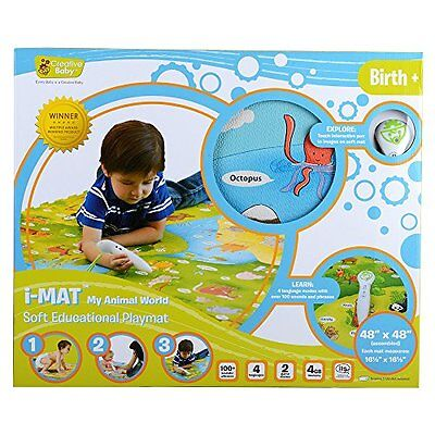 Baby Gyms Playmats Creative Baby i-Mat My Animal World Soft Educational Playmat