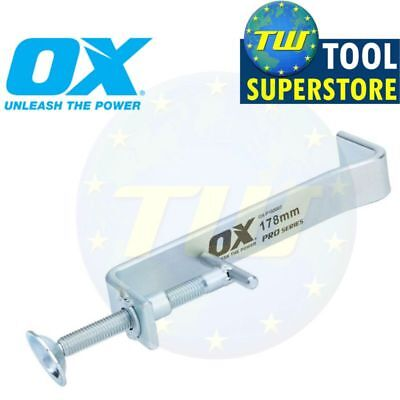 OX Tools 7in Bricklaying Internal Profile Clamps Builders 178mm Clamp P102007