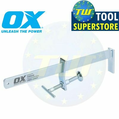 "OX Tools 13"" Bricklaying Sliding Profile Clamps Builders 330mm Clamp P101213"