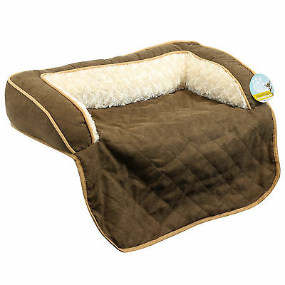 Me & My Pet Brown Soft Cosy Roll Out Cat/dog Sofa Bed Couch/chair/seat Protector