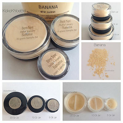 Banana Powder Ben Nye *Highlight Bake* 5/10/20gr sample sizes Quick Ship!