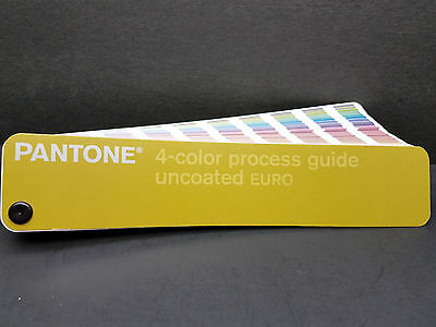 Pantone 4 - Color Process  Guide Uncoated - Euro Edition