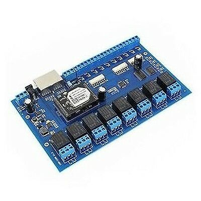 Control unit relay 8ch – activation remote INTERNET/ETHERNET/WI-FI