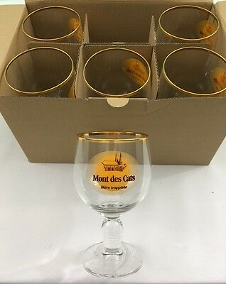 Chalice Beer Glass, Mont des Cats Brewery - Belgian Craft Beer Chalice Style