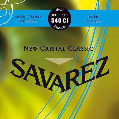 Savarez 540CJ Cristal Classic Series Classical Nylon Guitar Strings High Tension