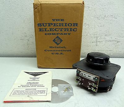 Superior Electric Co. Powerstat 1Hmq07Uk Variable Autotransformer Single Phase