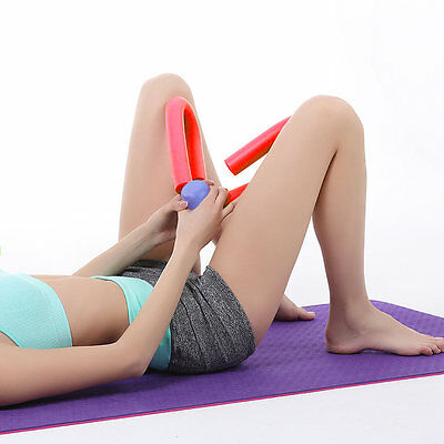 Multi-functional Thigh Master Leg Exerciser Fitness Workout Muscle Butt Toner @W