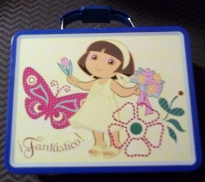 Dora the Explorer Fantastico Metal Lunch Box Nickelodeon 2008