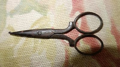 Antique sewing embroidery scissors tool