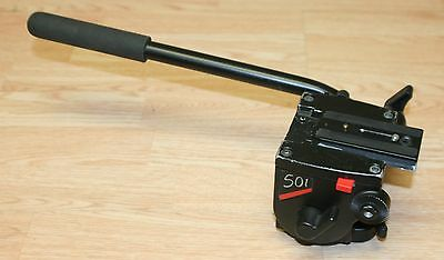 Manfrotto Bogen Model 501 Fluid Head PN 3433 with Arm and Plate