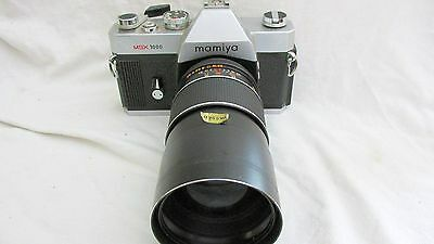 VINTAGE 1970s MAMIYA MSX 1000 CAMERA WITH LENS FOR DISPLAY