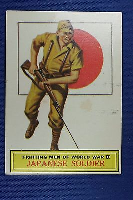 1965 Topps Battle Cards - #58 Japanese Soldier - Excellent