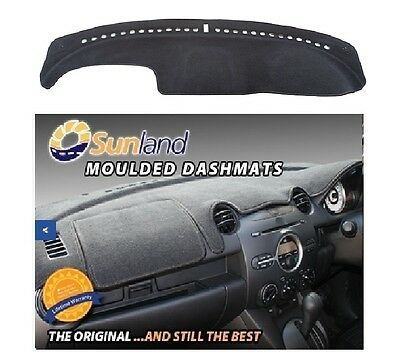 Dashmat Moulded Black For Holden Commodore VY VY2 10/02-08/04 Dash Mat