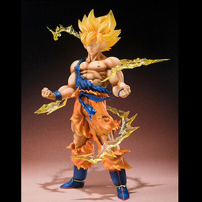 Anime Dragon Ball Z Super Saiyan Son Goku PVC Action Figure Collectible Toy US