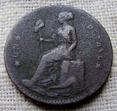 1857 Mexico 1/8 Jalisco State 29mm Copper Coin