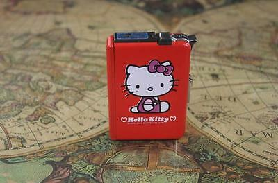 Gril Hellokittycigarette case with lighter lady cigarette box lighter gift