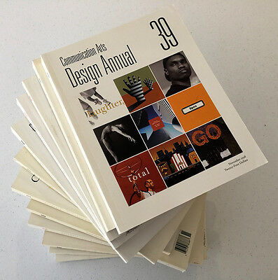 Communication Arts Design / Advertising / Illustration Annuals x 13