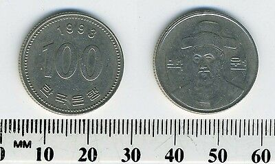South Korea 1993 - 100 Won Copper-Nickel Coin