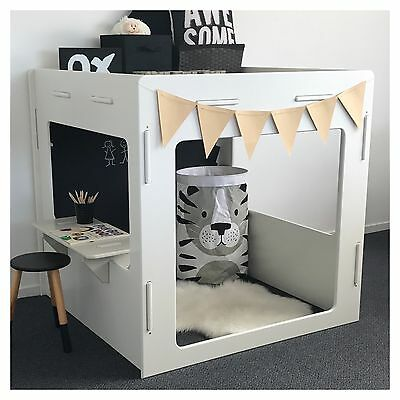 New Indoor Castle Cubby House + Free Planter Box & Chair - Quality Aussie Made