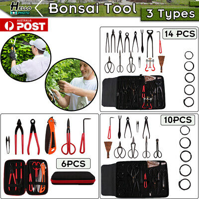 Bonsai Tool Cutter Scissor Garden Versatile Plant Trimming Equipment Case Kit AU