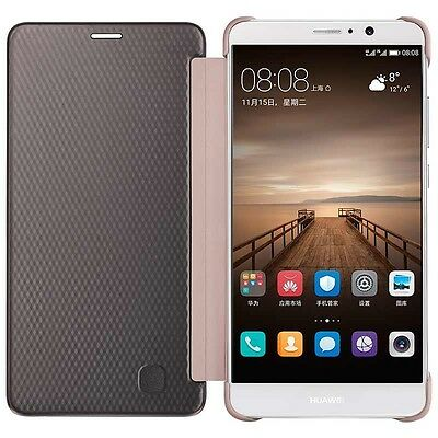 Huawei Mate 9 Case Luxury window Flip Leather Cover
