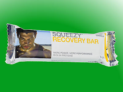 (33,90€/kg)  10 Squeezy Recovery Bar –  Riegel a 50g