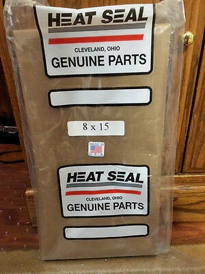HEAT SEAL 8'' X 15'' Teflon Cover -- New Sealed!