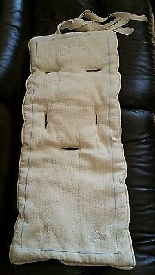 PERADI Washable Baby Stroller Padding Liner Pad Carriage Cushion cotton