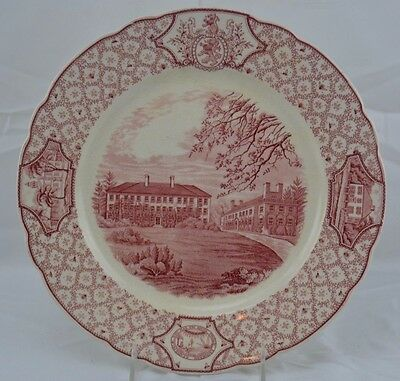 PHILLIPS EXETER ACADEMY DINNER PLATE The Lamont Infirmary Building ROYAL CAULDON