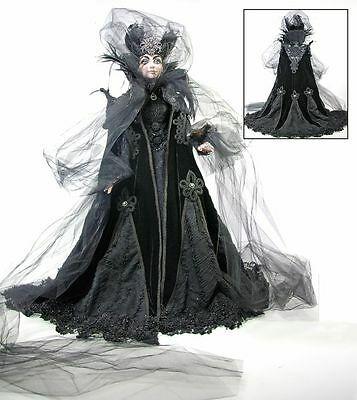"NIB Katherine's Collection Sorceress Witch Doll 32""  $799.99"