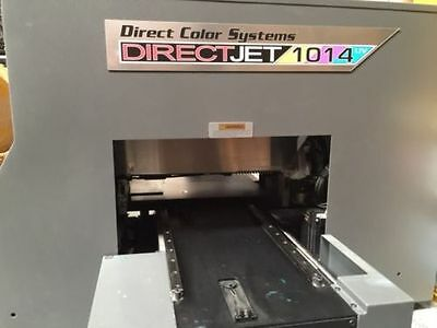 DCS Direct Color Systems UV Flatbed Small-Format Color Printer Direct Jet 1014UV