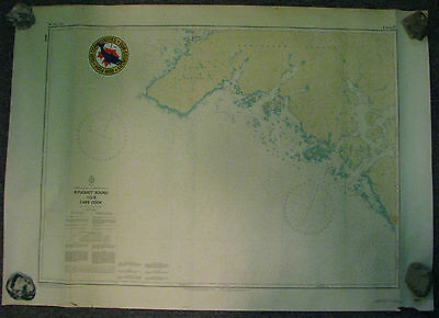 Nautical Chart Canada BC Kyuquot Sound to Cape Cook 1989 #3623