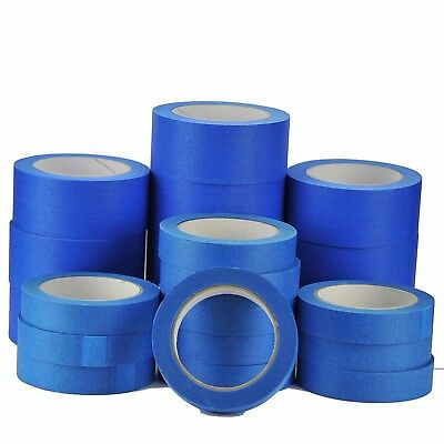 Blue Masking Decorators-Painters Clean Peel Tape Rolls Uv Resistant48-24Mm X 50M