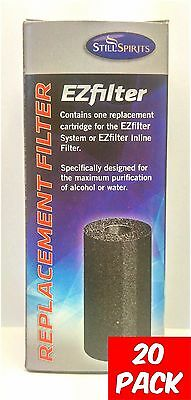 Still Spirits EZ Filter Carbon Cartridge -20 pack -EZ Filter, Spirits, Homebrew