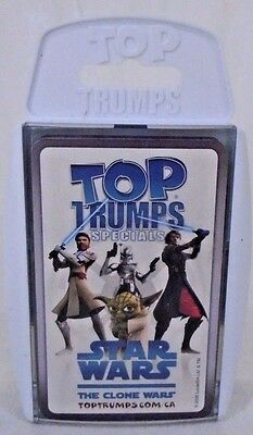 Star Wars Tops Trumps Specials The Clone Wars Set Card  Game