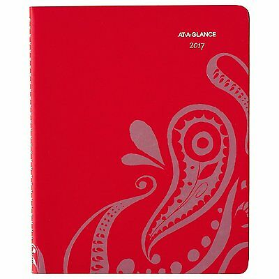"AT-A-GLANCE Weekly / Monthly Appointment Book / Planner 2017, 8-1/2 x 11"","