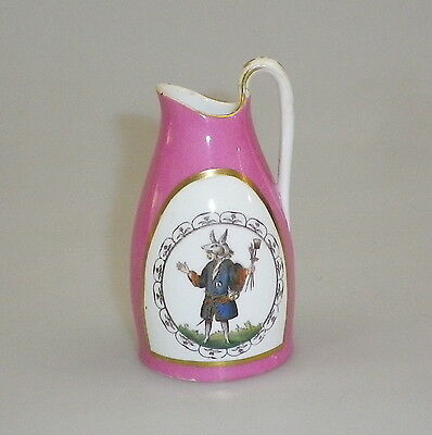 Vintage Hand Painted English Souvenir Miniature Jug Winchester College