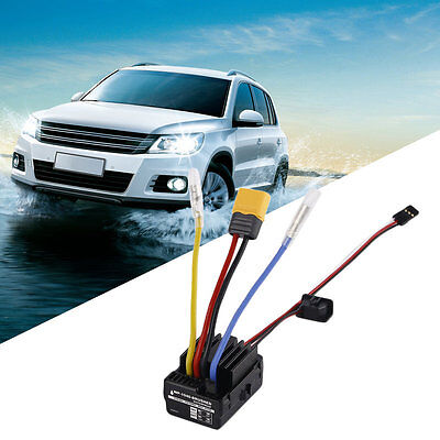 WP 1040 60A Waterproof Brushed ESC Controller for Hobbywing Quicrun Car Motor IU