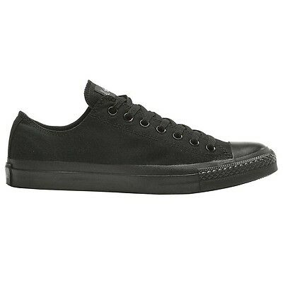 Converse CHUCK TAYLOR ALL STAR LOW CASUAL UNISEX SHOES, BLACK - Size US 4,5 Or 6