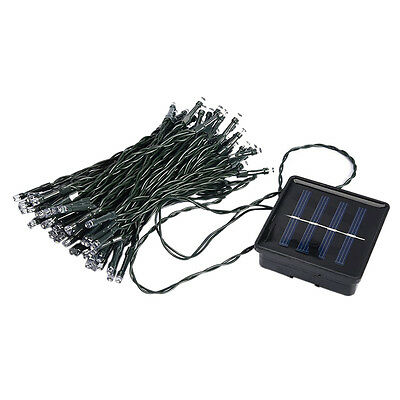 G516 33FT 10m 50 LED Solar Powered Fairy String Lights Waterproof for Outdoor, G